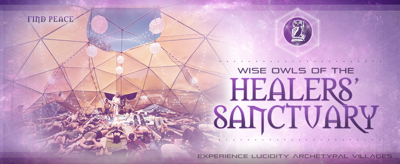 Healers' Sanctuary: Find Peace. Experience Lucidity Villages